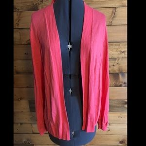 🍀3 for $15🍀Old Navy Hot Pink Long Sleeved Shawl